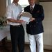 <James Smith of Coventry Hearsall Golf Club - Winner Downs Trophy Handicap Salver
